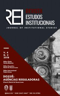 REI - Revista Estudos Institucionais / Journal of Institutional Studies