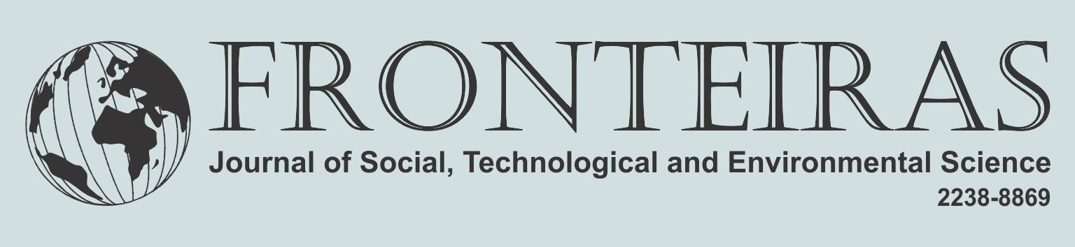 Fronteiras: Journal of Social, Technological and Environmental Science