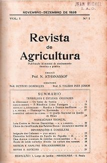 Brazilian Journal of Agriculture