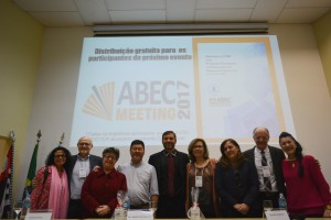 Diretoria da ABEC, ao final do evento