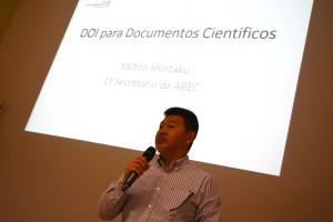 Milton Shintaku, do Ibict e membro da diretoria da ABEC.