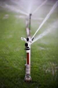 Modern device of irrigation garden
