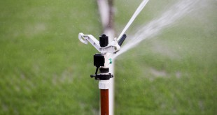 Modern device of irrigation garden