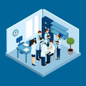 Clinic Personnel Concept
