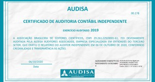 Certificado auditoria ABEC