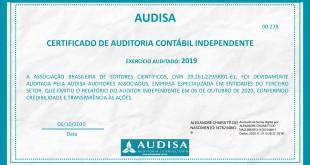 Certificado auditoria ABEC